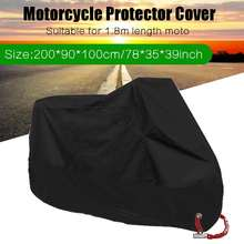 200x100cm Motorcycle Raincoat Universal Outdoor Uv Protector Bicycle D