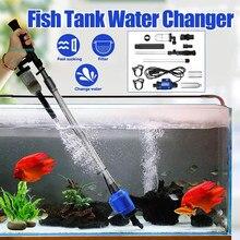 Elektryczne urządzenie do czyszczenia żwiru w akwarium automatyczny zmieniacz wody szlam ekstraktor płuczka piasku pompa filtrująca do akwarium odkurzacz