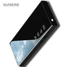 30000 зеркало power Bank для iPhone samsung Xiaomi Внешняя батарея 2 USB power Bank портативное зарядное устройство для мобильного телефона power Bank