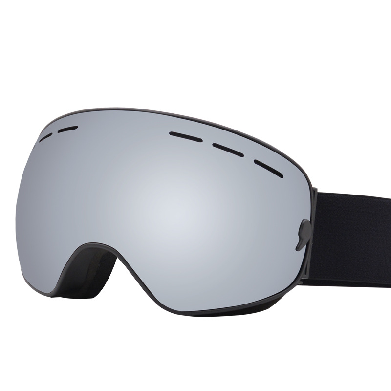 Ski Goggles Double Anti-fog Big Spherical Snow Goggles OTG Card Myopia Ski Goggles Support Generation