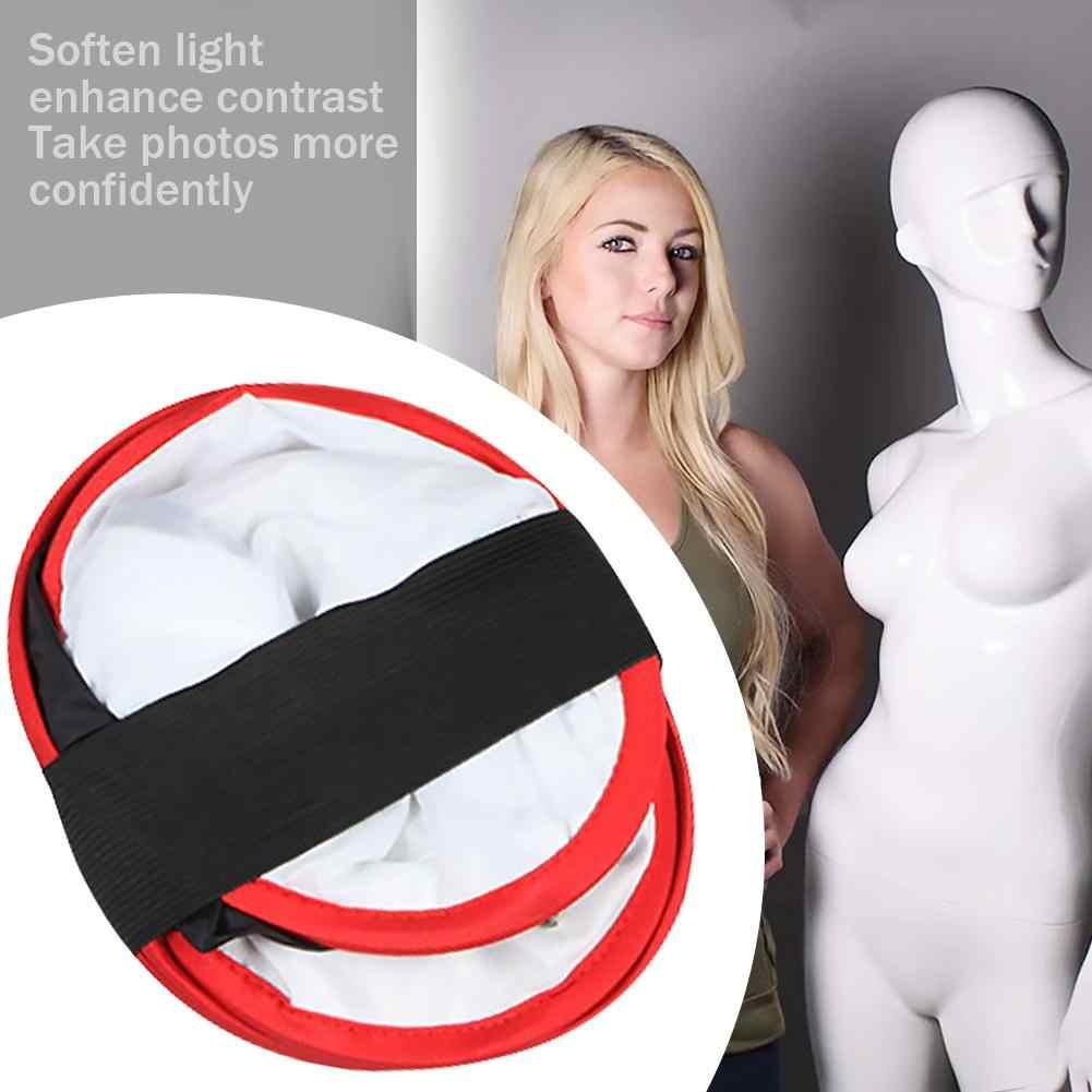 Portatile Pieghevole Softbox 40x40 centimetri di Illuminazione Fotografia Softbox per Studio HA CONDOTTO LA Luce di Pannello per Yongnuo YN600 YN900