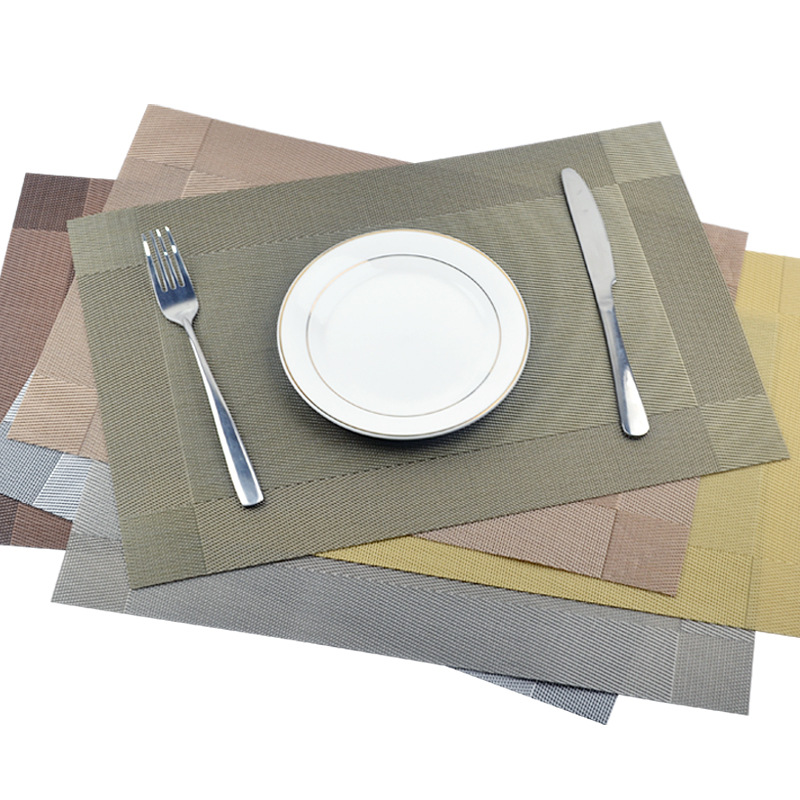 4PCS Placemats Anti-skid and Heat-in