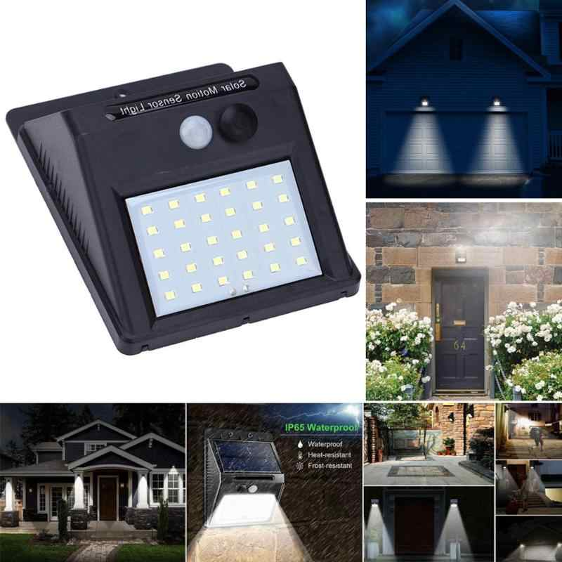 1-4 Stuks Led Solar Light Motion Sensor Outdoor Tuin Licht Decoratie Hek Trap Pathway Yard Security Solar Lamp dropshipping