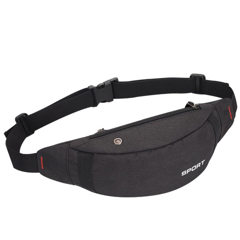 Women Breathable Waist Bag Unisex Snug Designer Canvas Fanny Pack Fashion Travel Money Phone Chest Bag Female Belt Bag
