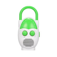 Mini AM / FM Shower Radio Bathroom Water-resistent Portable Radio Hanging Music Radio with Built-in Speaker Shower Radio(China)