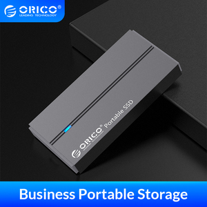 ORICO External SSD hard drive 1TB SSD 128GB 256GB 512GB SATA SSD mSATA SSD NVME Portable Solid State Drive with Type C USB 3.1(China)