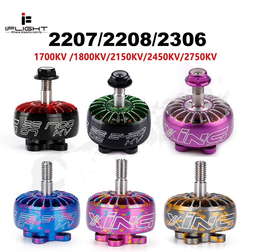 IFlight XING CAMO Brushless Motor 2207 2208 2306 Rotor 1700KV 1800KV 2450KV 2750KV RC FPV Racing Drone Spare Part DIY
