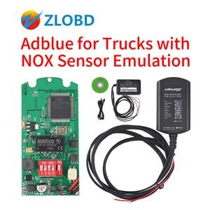 Image 2 - Adblue 8in1 شاحنة Adblue محاكي 8 في 1 دعم Euro4 و 5 أفضل جودة Adblue مع NOx الاستشعار 3.0 جهاز adblue 9 في 1