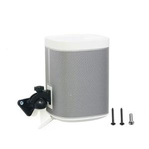 Image 5 - Colgador de altavoz ajustable para SONOS Play1, soporte metálico para altavoz inteligente con Bluetooth, para pared de escritorio, 6kg de carga