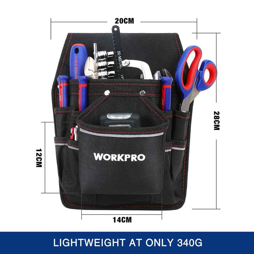 WORKPRO электрик поясная сумка для инструментов, сумка для инструментов с карманами