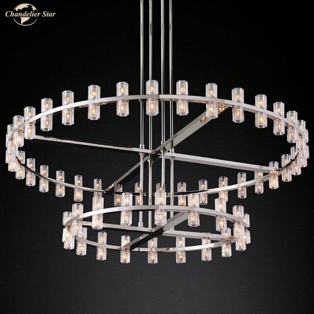 Фото постмодерн роскошный подвесной светильник для спальни гостиной цена