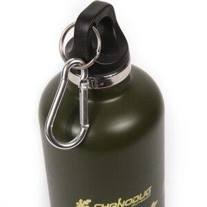 750 мл нетоксичные спортивные бутылки для воды из нержавеющей стали без запаха, велосипедные бутылки для кемпинга, велосипедные чайники, вак...