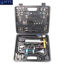 Automotive Nicht demontieren Kraftstoff Injektor Reiniger Kit und Tester mit Fall für Benzin EFI Drossel Benzin Autos, 750ML Tank, 145PSI
