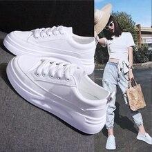Chaussures de sport pour femmes, blanches, à la mode, Zapatillas Mujer