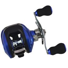 ABZB-Ручная Рыболовная катушка для baitcasing, капли воды, колеса 6,3: 1, 18Bb, рыболовная леска, колесо с суб-ручкой, катушка, рыболовное снаряжение, Pesca