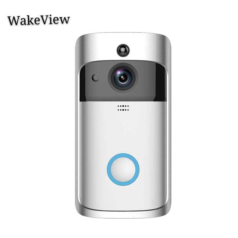 WakeView 1080P умный дверной звонок камера Wifi беспроводной Вызов домофон видео-глаз дверной звонок в квартиру телефон домашняя Безопасность PIR 32 Гб TF