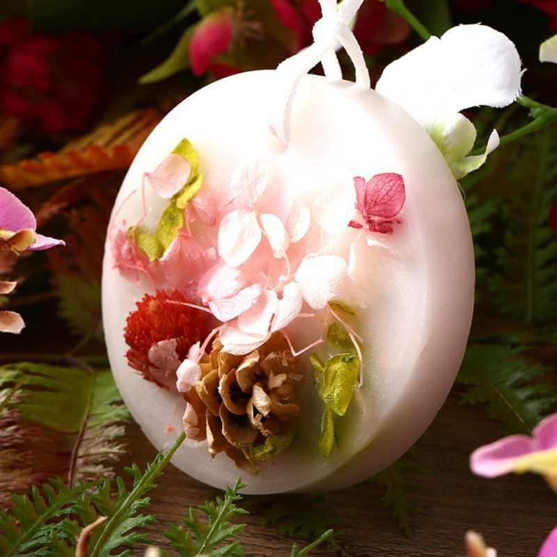 תה נר קישוט עלה כותרת DIY טהור סויה שעווה טבעי מרכיבים פרח לימון עלה סבון נרות חומר ארומתרפיה