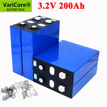 VariCore 3.2V 200Ah LiFePO4 lithium battery 3.2v 3C Lithium iron phosphate battery for 12V 24V battery inverter vehicle RV