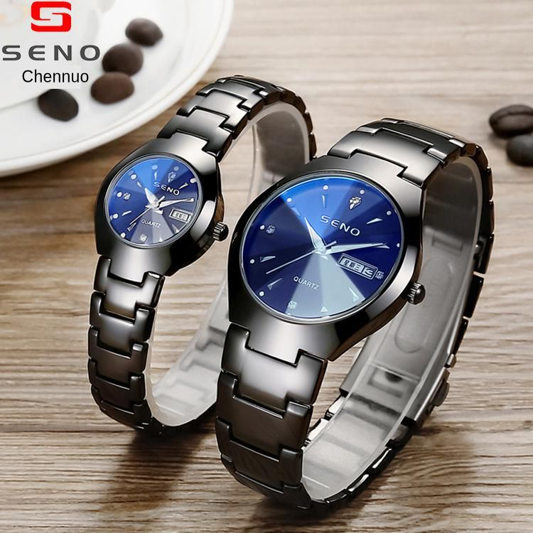 Brand Lover Watch Pair Waterproof Men Watch Women Couples Lovers Watches Quartz Wristwatches Bracelet Clock Relogio Feminino