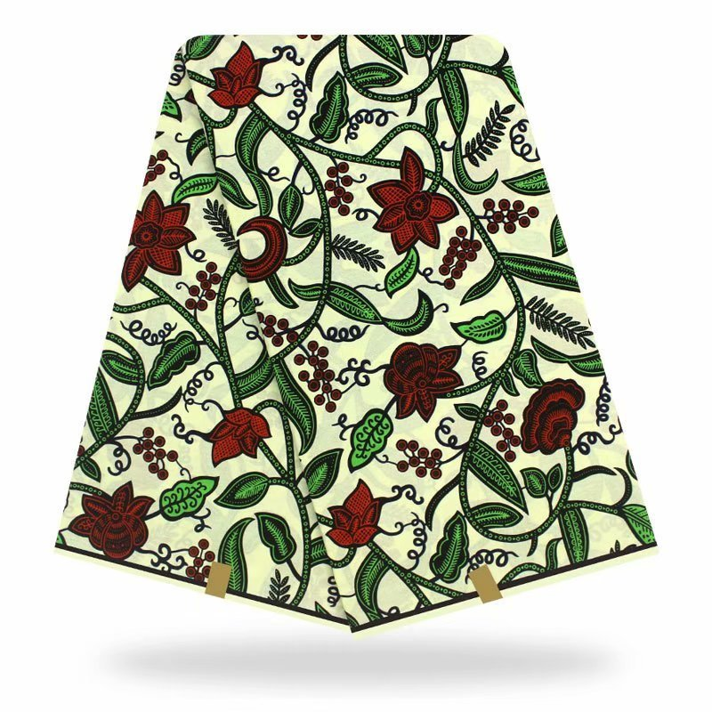 New Design Tissus Wax High Quality Real Dutch Wax 2020 Original Dutch Wax African Wax Tissus Print Fabric For Women Dress Soft