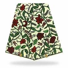 Новые Текстиля Дизайн Воск Высокое Качество Настоящий Голландский 2020 Оригинальный Африканский Печать Ткань Для Женщины Платье Мягкий