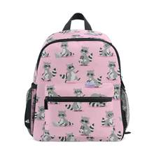 ALAZA Backpack little girls bag PINK Kindergarten Preschool Bag Children School Suitable for 3-8 years old car Cartoon bag Small(China)