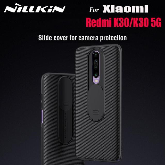 מצלמה הגנת מקרה עבור Xiaomi Redmi K30 5G NILLKIN שקופיות להגן על כיסוי עדשת הגנת Xiaomi Redmi K30 5G Funda