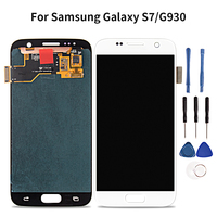Amoled LCD for Samsung Galaxy S7 Lcd Display G930 G930A G930F G930V Touch Screen Digitizer Assembly Parts for Samsung Galaxy S7