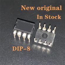 10 PÇS/LOTE UC3845B DIP8 UC3845A UC3845AN 3845 UC3845BN UC3845 DIP-8 Original Em Estoque