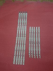 Image 2 - 10 PCS/set LED Backlight strip for Samsung HG40AC690 UE40H6270 UE40H6500 UE40H5500 UE40H6200 UE40H5100 D4GE 400DCA 400DCB R2 R1