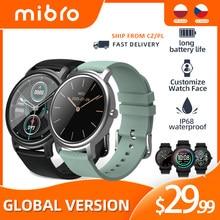 Mibro Air Electronics Bluetooth Smart Watch uomo orologi da donna Sport Smartwatch Fitness cardiofrequenzimetro orologio da donna regalo