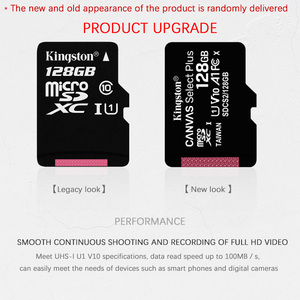 Image 2 - Kingston flash Memory Card 128GB 64GB 32GB 16GB Micro sd card Class10 UHS 1 8G C4 Microsd TF/SD Cards for Smartphone