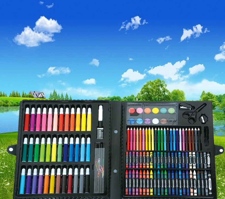 Children Drawing Watercolor Pen, Students Learn Painting Special Pen, Crayon, Color Lead, Oil Painting Stick