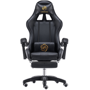 Image 5 - LIKE REGAL Multifunctional Fashion  Household Reclining Office Chair With Footrest Racing Seat