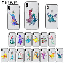 MaiYaCa Art Snow White Cinderella Mermaid beast Phone Case for iphone 11 pro X XS MAX 66S 7 7plus 8 8Plus 55S SE XR(China)