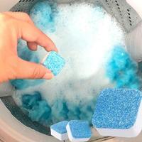 12 шт. стиральная машина очиститель от накипи Глубокая очистка для удаления дезодоранта долговечные многофункциональные принадлежности дл...