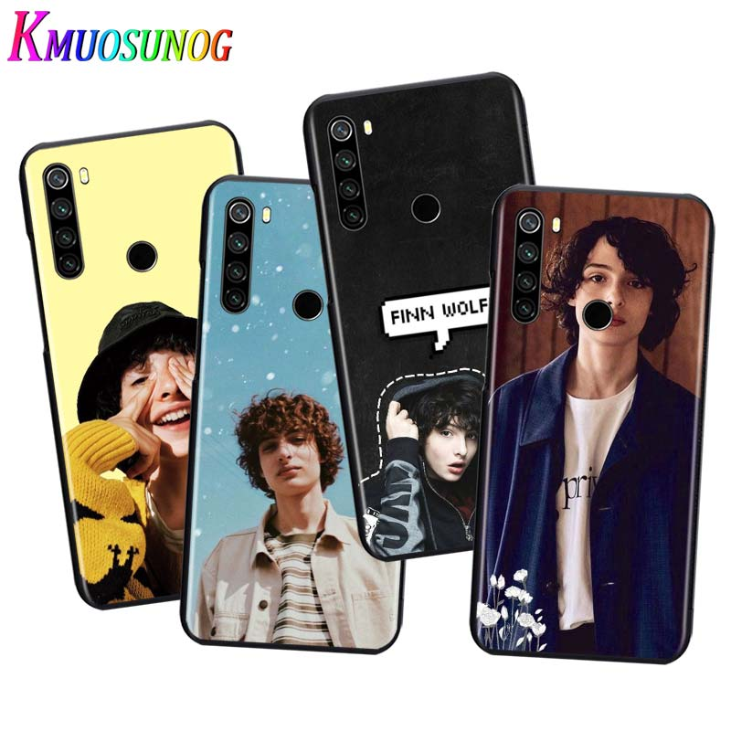 For Xiaomi Redmi Note 9 9S Max Phone Case TV Stranger Things For Xiaomi 8T 8 7 6 5 Pro 5A 4X 4 Black Phone Cover