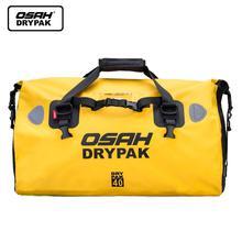 Motorcycle Travel Dry Bag Waterproof Duffle OSAH DRYPAK 25L/40L/60L Motorbike Motocross Sport Rear Seat Tail