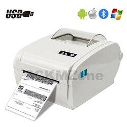 4 polegada térmica impressora de código de barras impressora etiqueta envio impressora lable 100*150 ups usps envio express impressora lable papel