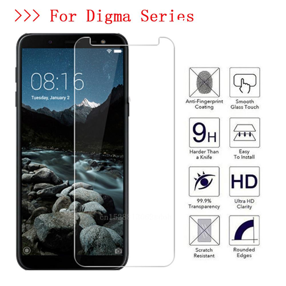 9H Tempered Glass for <font><b>Digma</b></font> <font><b>LINX</b></font> A452 A500 <font><b>A501</b></font> C500 VOX S506 S507 S508 S509 S513 3G 4G Protective Film Screen Protector image
