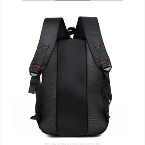 Image 3 - Мужской Дорожный рюкзак для ноутбука, черная водонепроницаемая сумка на плечо, школьный ранец для деловых поездок, 2020