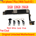 32 Гб 128 ГБ 256 ГБ для iphone 7 plus материнская плата с Touch ID/без Touch ID 100% оригинальные разблокированные для iphone 7P Logic boards