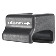Ulanzi OA-8 Microphone support adaptateur pour DJI OSMO ACTION Cage Case sport caméra Vlog froid chaussure adaptateur convertisseur étendre le montage(China)