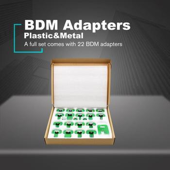 For KTAG KESS KTM BDM Adapters Trasdata Chip Adjustment Adapter BDM Frame ECU RAMP Adaptor Full Set of 22 BDM Adapter Holders