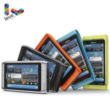 -Teléfono móvil Nokia N8 desbloqueado, Original, 3G, WIFI, GPS, cámara de 12MP, pantalla táctil de 3,5 pulgadas, 16GB de almacenamiento, usado y renovado