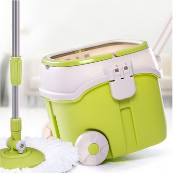 150607/Rotary Mop Hand Wash Mop Barrel Double drive single bucket mopping the floor/Mop Barrel Stainless Steel Rotation