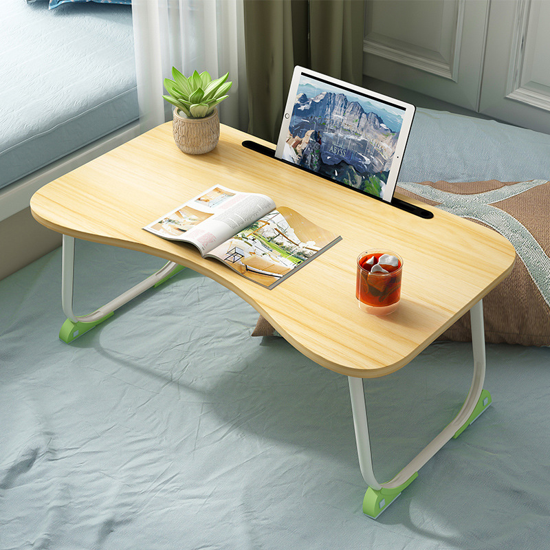 Bed Desk Simplicity Dormitory Lazy Table Bed Item Laptop Table Foldable Multi-functional Small Table
