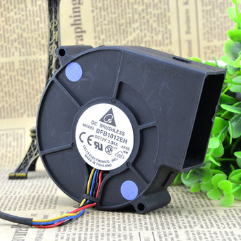 For delta FB1012EH 9733 12V 2.94A 9cm 4wire double ball air cooling fan centrifugal turbine blower 4wire image