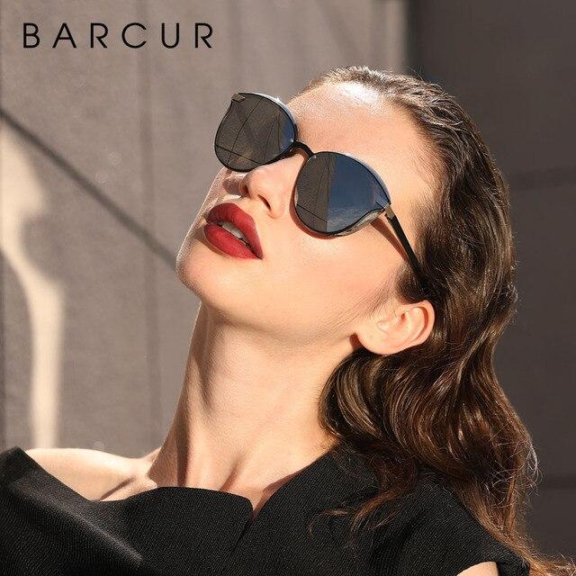 Luxury Polarized Sunglasses Women Round Sun Glassess Ladies Lunette De Soleil Femme 3