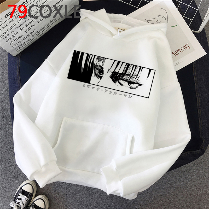 Hot Japanese Anime Attack on Titan Hoodies Men Kawaii Cartoon  Titans Attack Graphic Streetwear Harajuku Sweatshirts Male